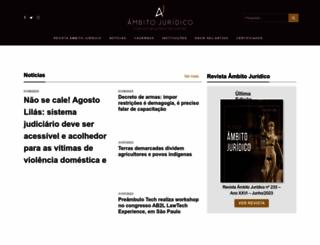 ambitojuridico.com.br screenshot
