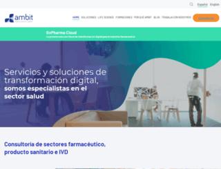 ambitprojectes.com screenshot