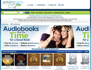 amblingbooks.com screenshot
