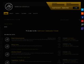 ambrosia-servers.eu screenshot