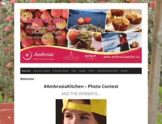 ambrosiaapplescontest.com screenshot