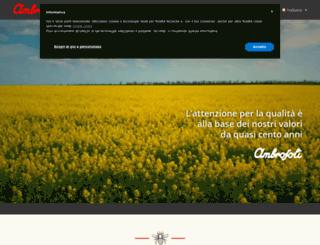 ambrosoli.it screenshot