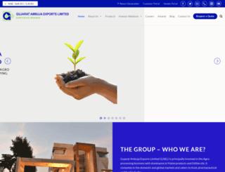 ambujaglobal.com screenshot