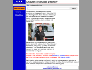 ambulance-services.regionaldirectory.us screenshot
