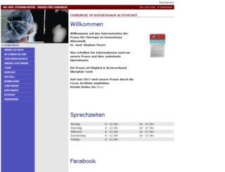 ambulantechirurgie.info screenshot