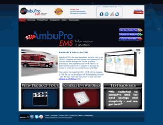 ambupro.net screenshot