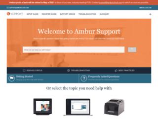 amburapp.com screenshot