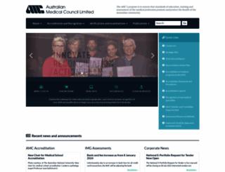 amc.org.au screenshot