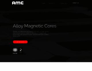 amccores.com screenshot