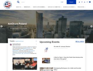 amcham.pl screenshot