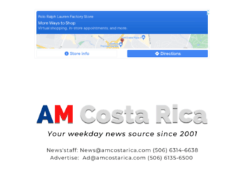 amcostarica.com screenshot