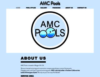 amcpools.com screenshot