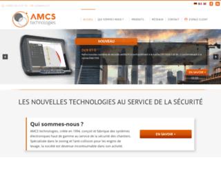 amcs.fr screenshot