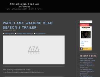 amcwalkingdeadseason6online.com screenshot