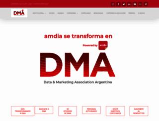 amdia.org.ar screenshot