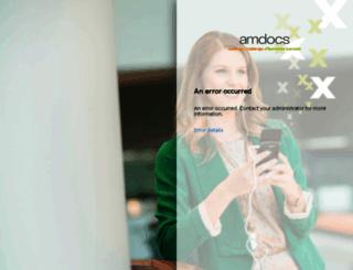 amdocsprodmain.service-now.com screenshot