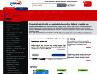 ame.cz screenshot
