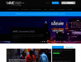 ame.org screenshot