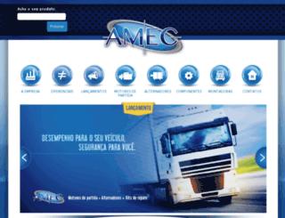 amec-compel.com.br screenshot