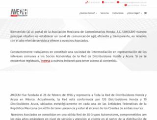 amecah.com.mx screenshot