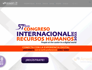 amedirh.com.mx screenshot