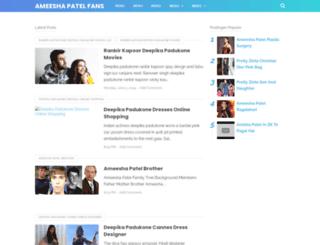 ameesha-patel-fans.blogspot.com screenshot