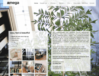 amega.ch screenshot