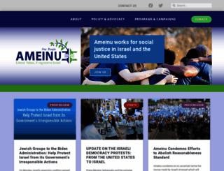 ameinu.net screenshot