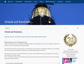 ameland-tips.de screenshot