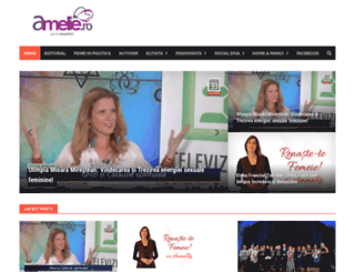 amelie.ro screenshot