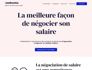 amelioration.fr screenshot