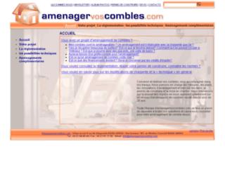 amenagervoscombles.com screenshot