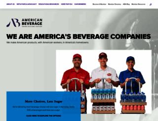 ameribev.org screenshot