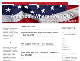 america-whereareyou.com screenshot