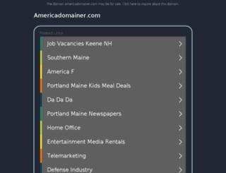 americadomainer.com screenshot