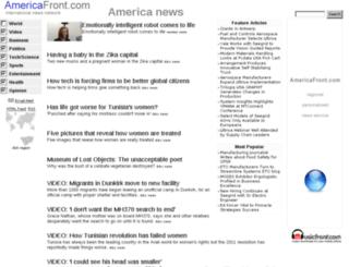 americafront.com screenshot