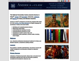 americainclass.org screenshot