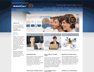 americall.com screenshot