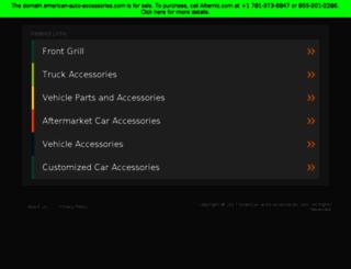 american-auto-accessories.com screenshot
