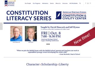 american-heritage.org screenshot