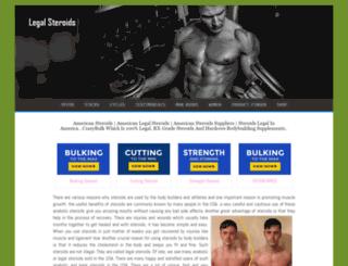 american-steroids.com screenshot