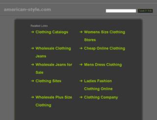 american-style.com screenshot