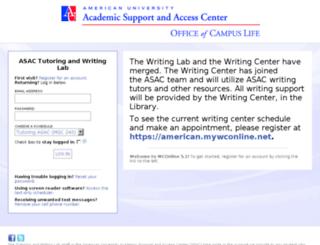 american.mywconline.com screenshot