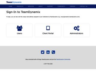 american.teamdynamix.com screenshot