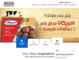 americanafoods.com screenshot