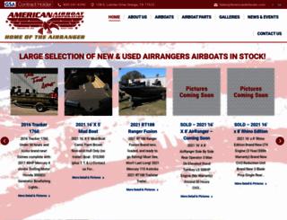 americanairboats.com screenshot