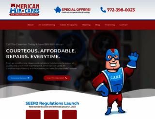 americanaircares.com screenshot