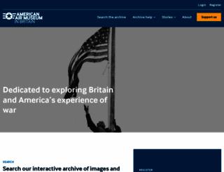 americanairmuseum.com screenshot