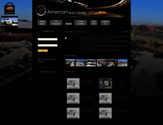 americanautocenters.com screenshot