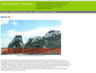 americanautotransport.com screenshot